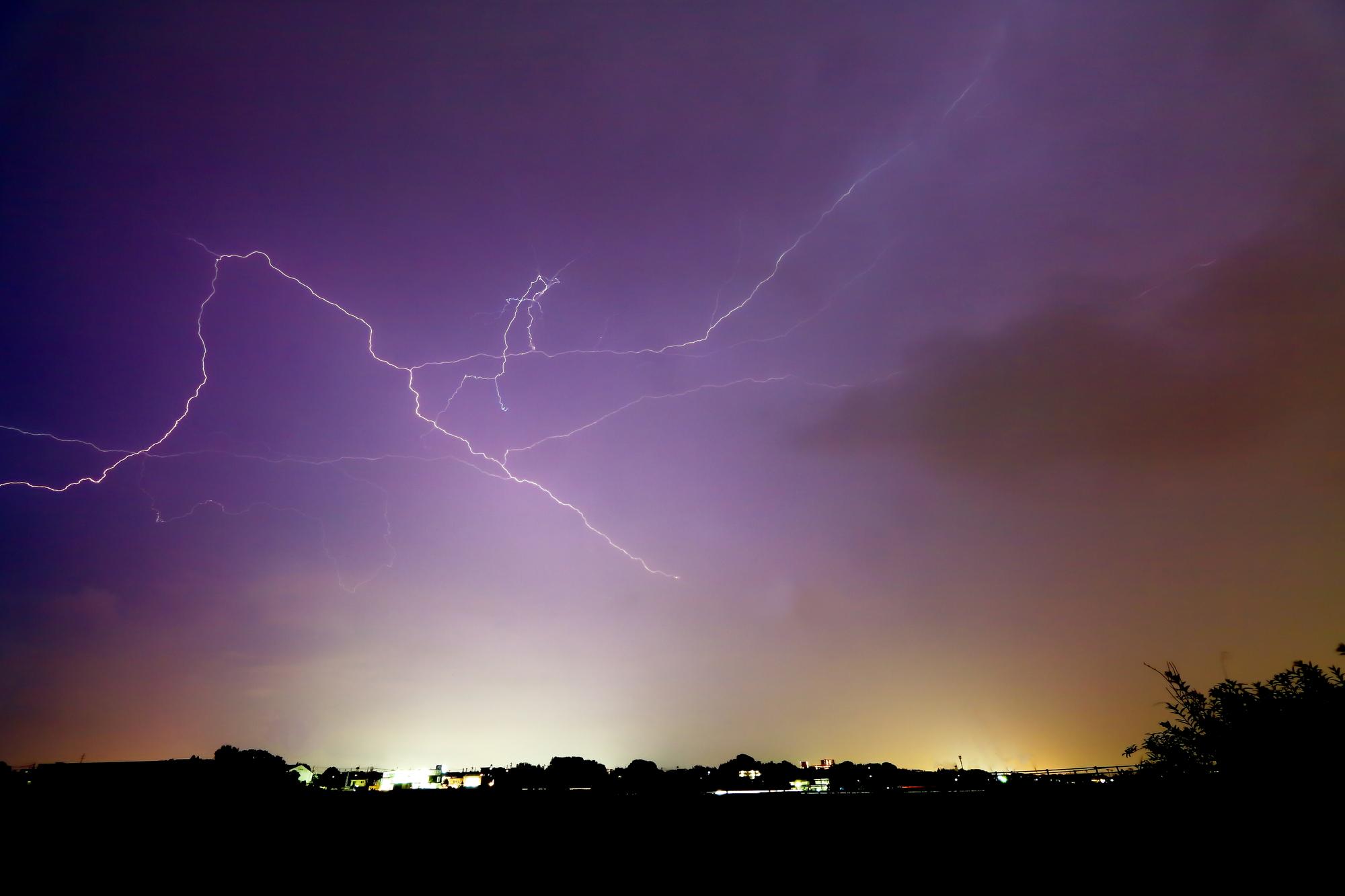 雷雨 東京 電力